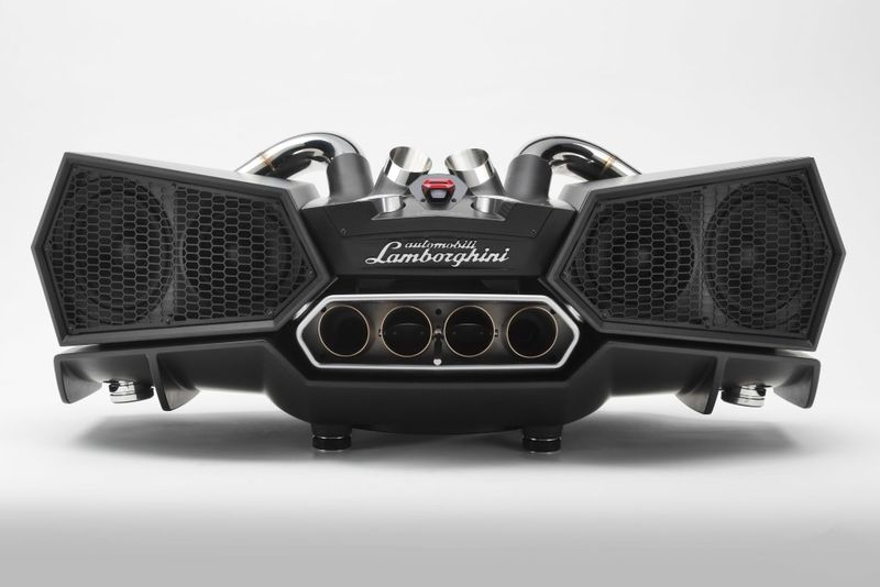 Supercar Exhaust Speakers