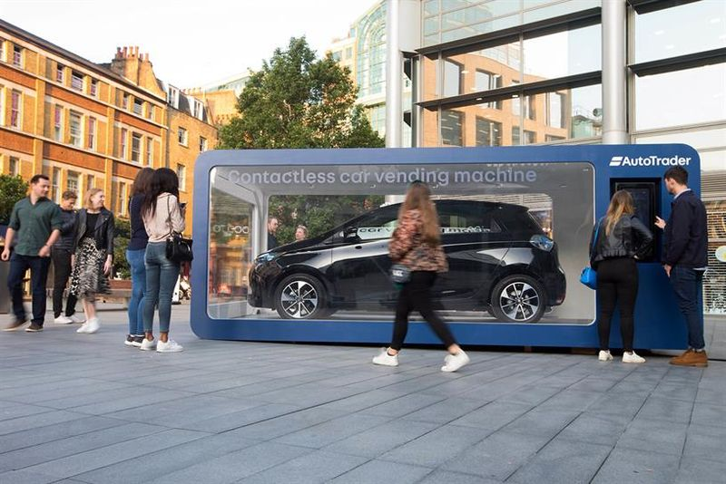 Contactless Car Vending Machines