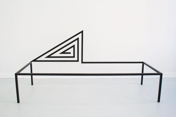 Geometric Furniture-Like Sculptures