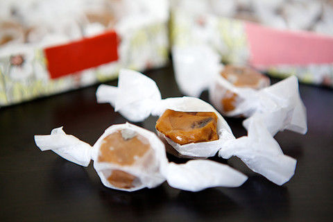 Savory Fig Caramels