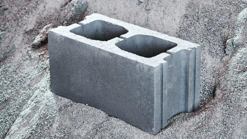 Carbon-Capturing Concrete Blocks