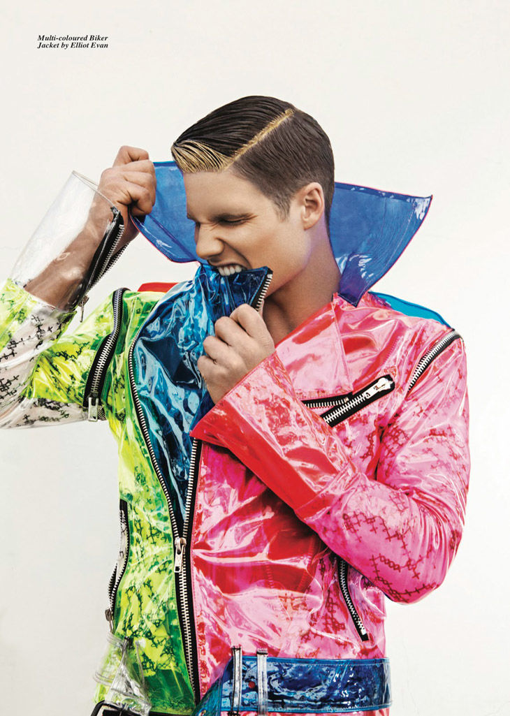 Flamboyant Outerwear Editorials