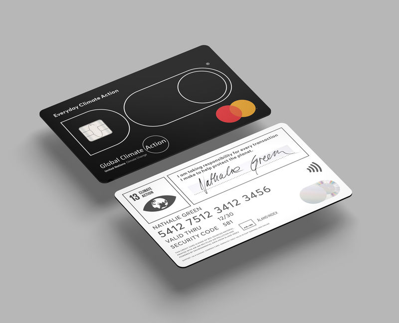 Carbon Emission-Tracking Credit Cards