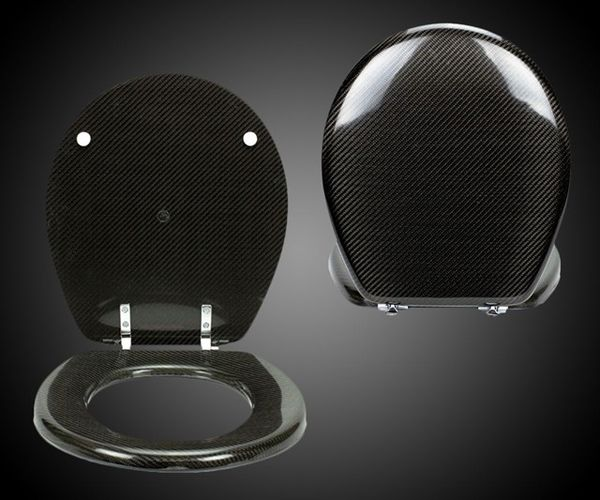 Carbon Fiber Toilet Seats