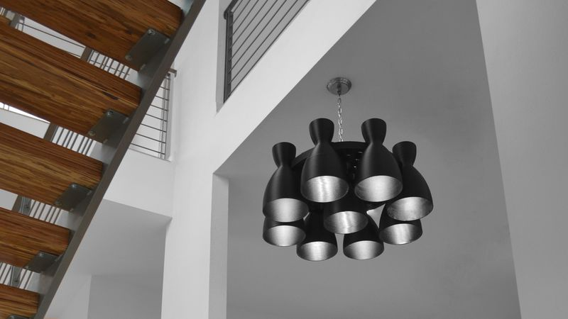 Rocket-Inspired Chandeliers