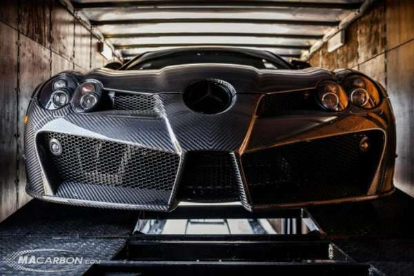 Customized Carbon Fiber Cars Mercedes benz