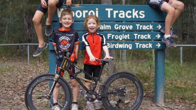 Child-Centric Mountain Bikes
