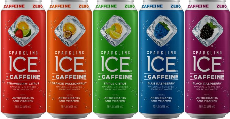 Caffeinated Carbonated Water