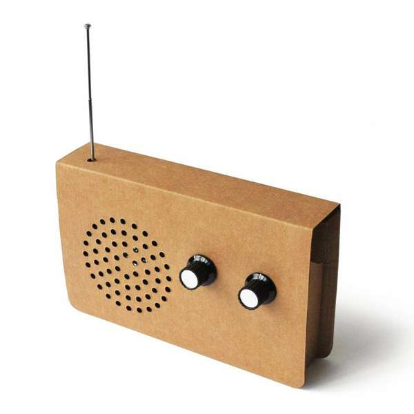 Retro Eco-Friendly Stereos