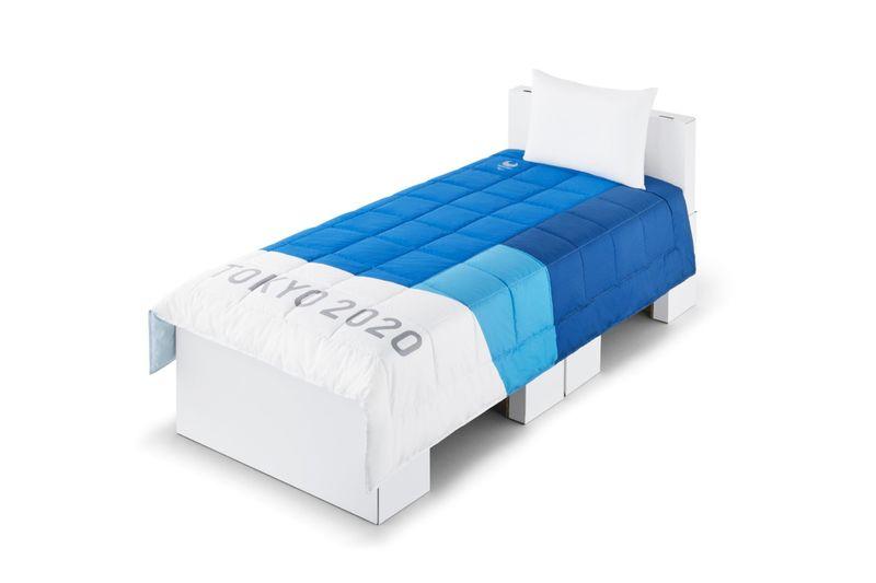 Athlete-Focused Cardboard Beds