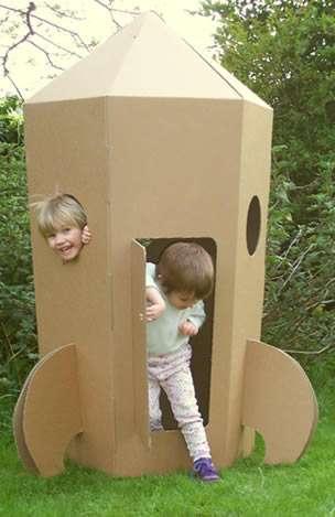 Cardboard Creations Paperpod Housing
