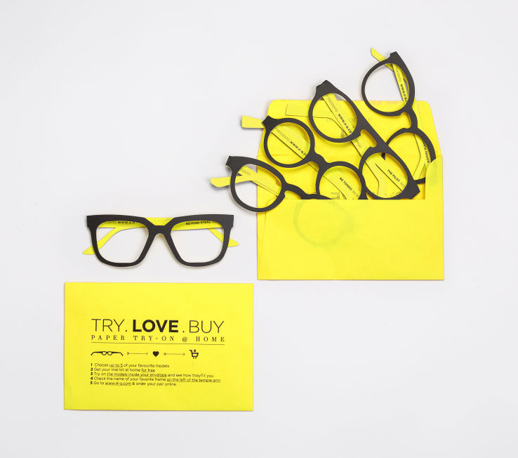 Cardboard Demo Eyeglasses