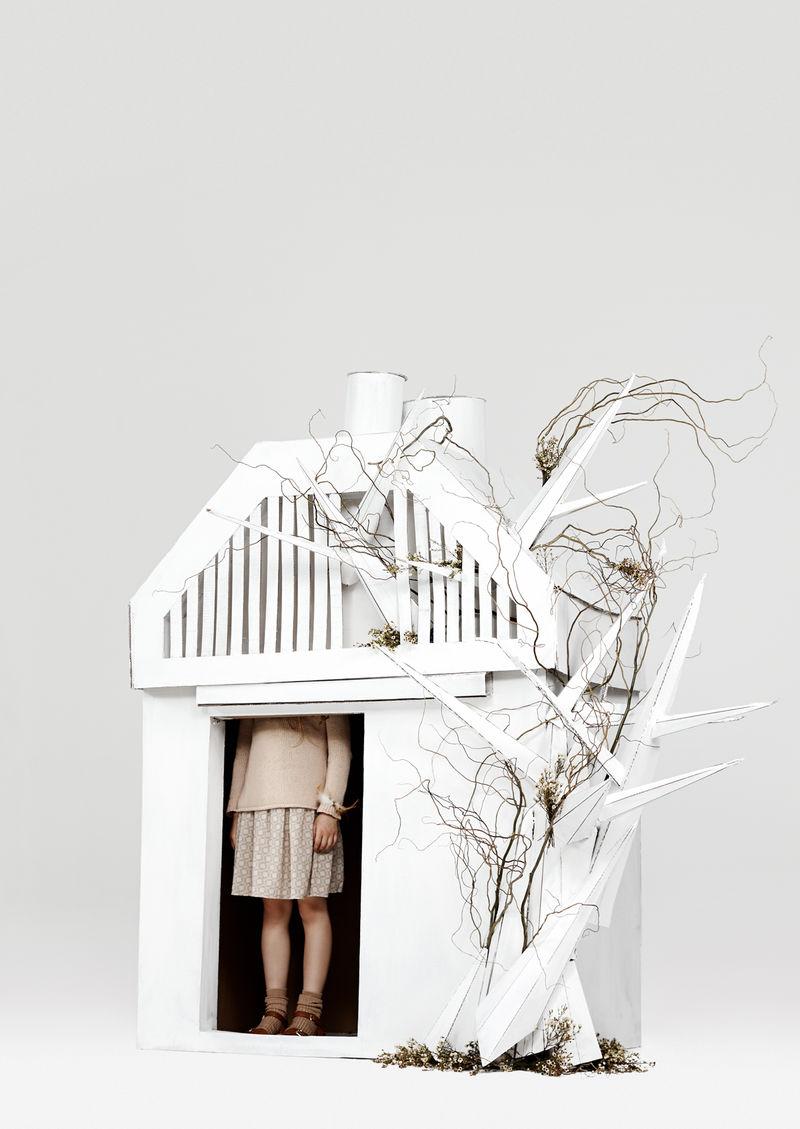 Whimsical Cardboard Forts
