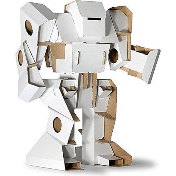 Automaton Cardboard Constructions