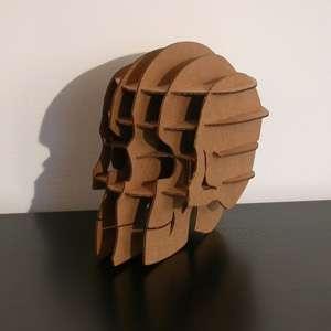 Cardboard Skull Puzzles