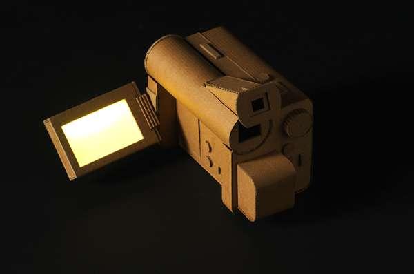 Cardboard Tech Toys