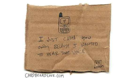 Cardboard Sentiments