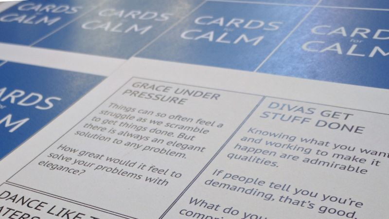 Anxiety-Alleviating Card Games