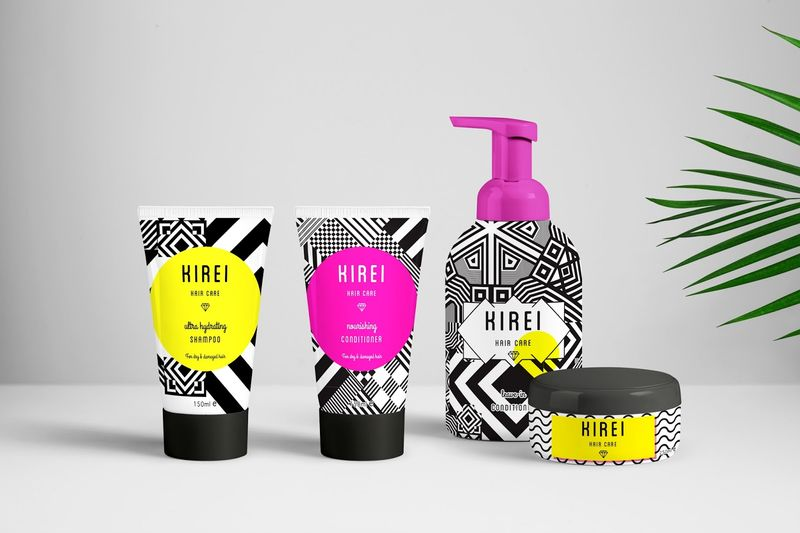 Pop Art Cosmetic Branding