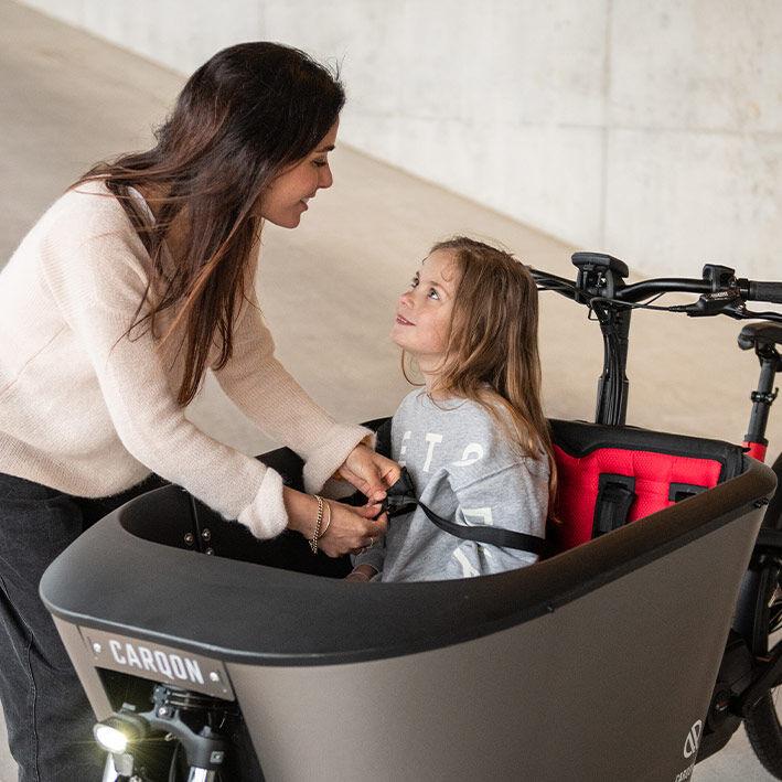 Secure Family Cargo Bikes