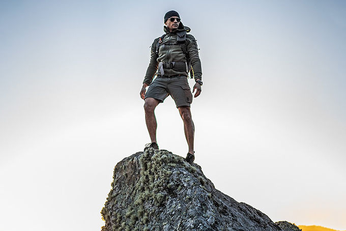 Tactical Soldier-Inspired Shorts