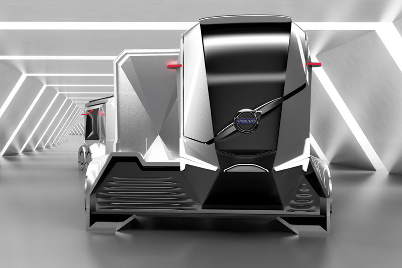 Modular Electromagnetic Shipping Trucks