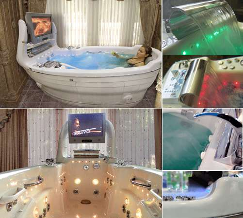 Boat Shaped Bathtubs