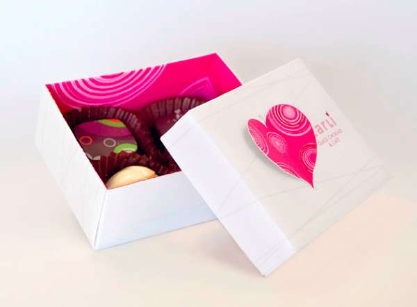 Heart-Fluttering Confection Branding