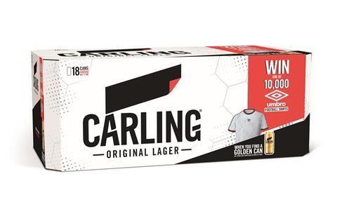 Promotional Football Beer Packs