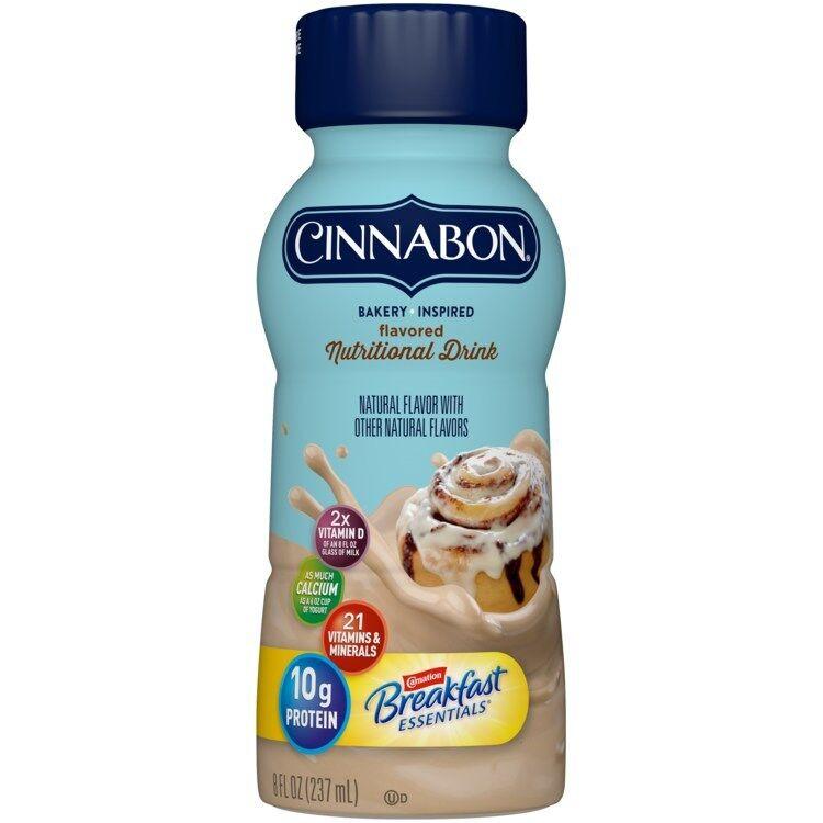Cinnamon Roll Breakfast Beverages