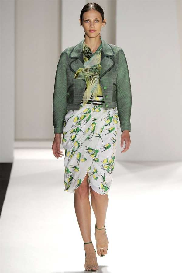 Luscious Lime Green Looks