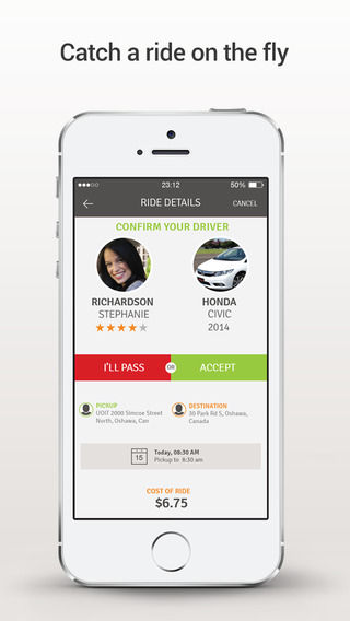 Friendly Ridesharing Apps