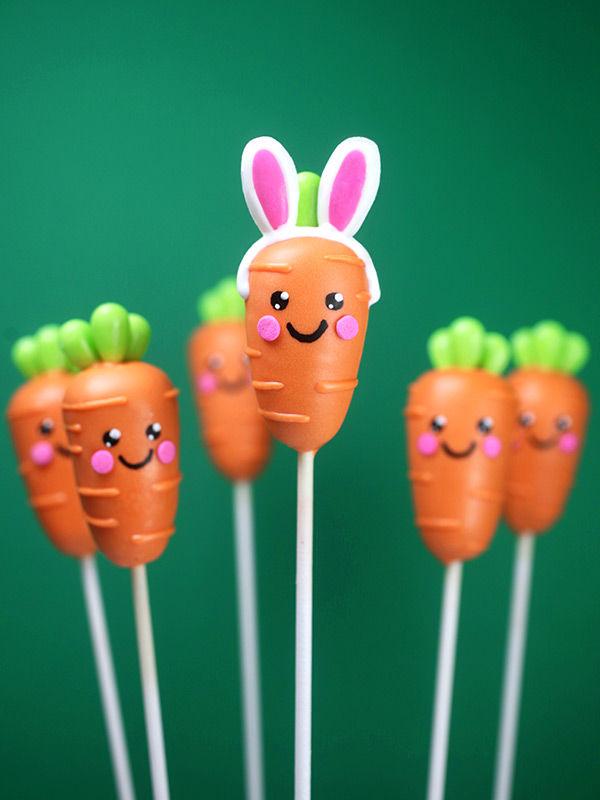 Easter Carrot Cake Pops