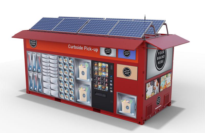 Autonomous Retail Pop-Ups
