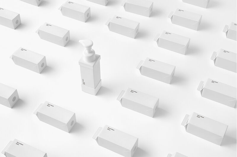 Paper Carton Cosmetic Packaging