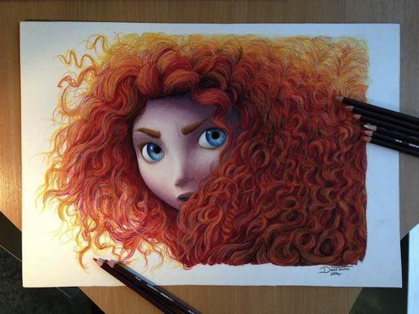 Cartoon Character Drawings
