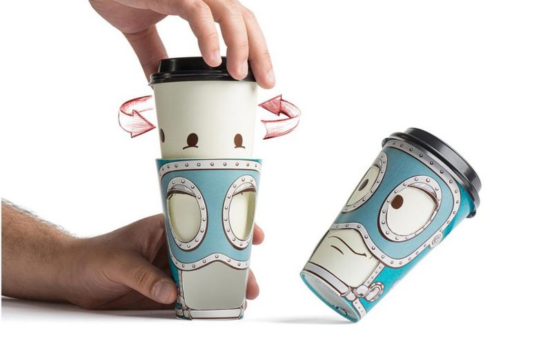 Expressive Coffee Cups