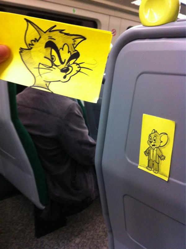 Comedic Commuter Cartoons