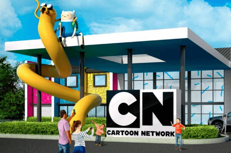 Cartoon-Themed Resort Hotels