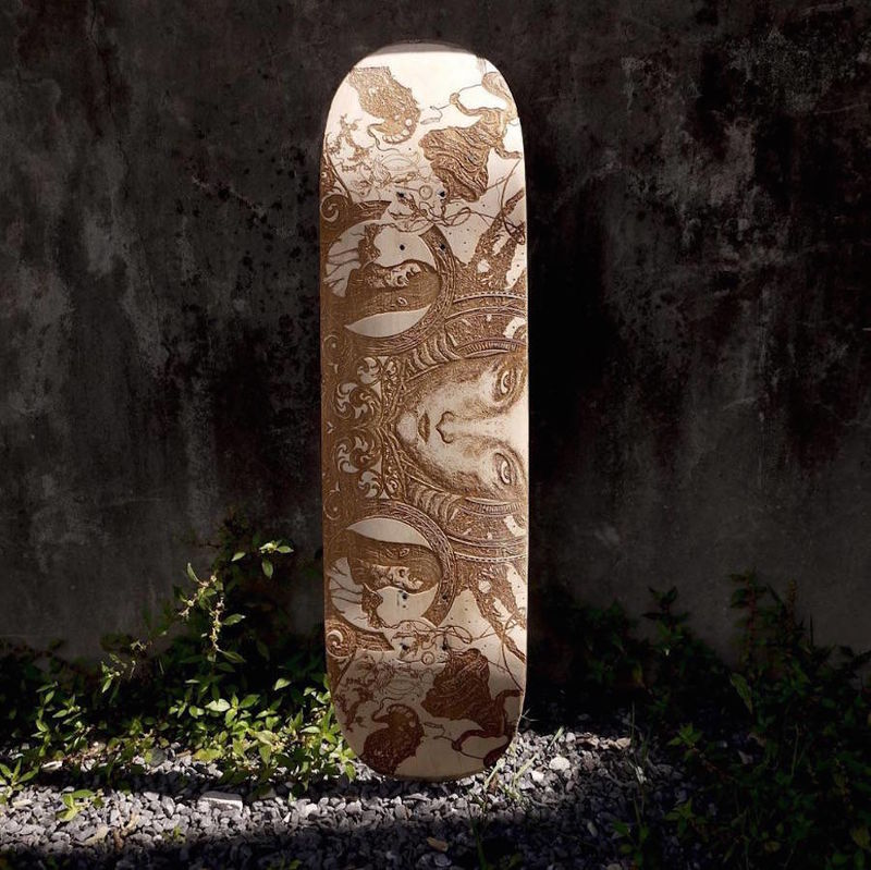 Custom Carved Skateboards