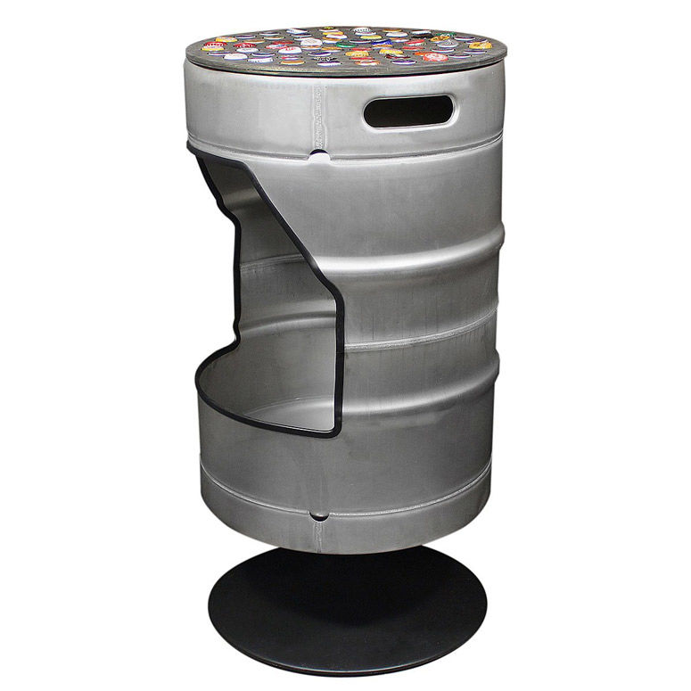 Recycled Beer-Themed Stools