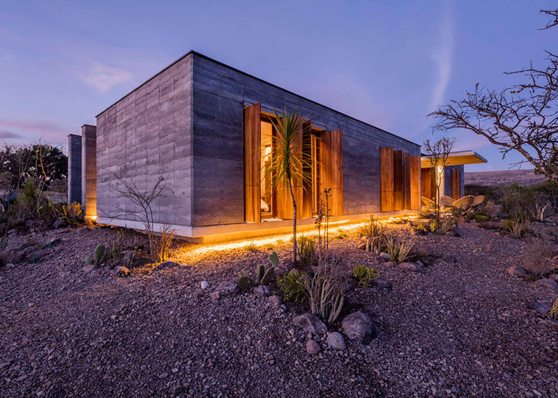 Sustainable Rammed-Earth Houses
