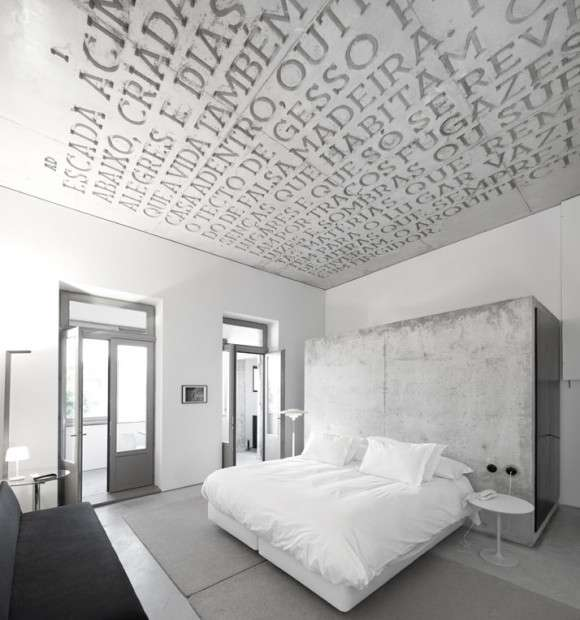 Carved Concrete Ceilings