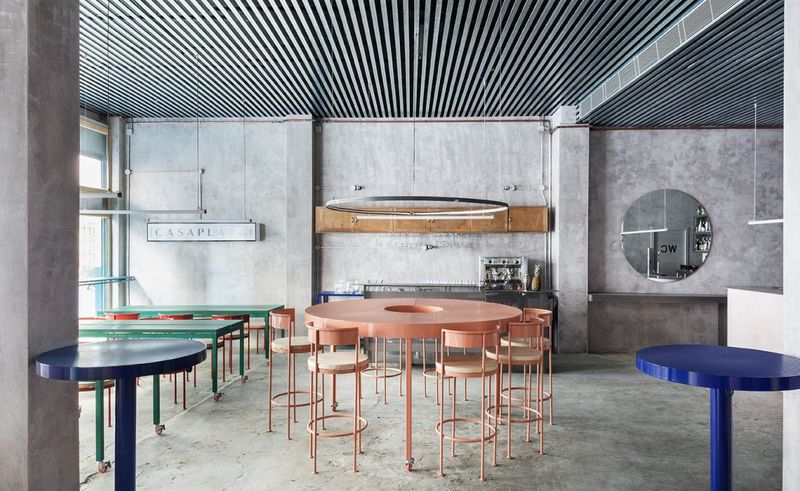 Art-Inspired Industrial Restaurants