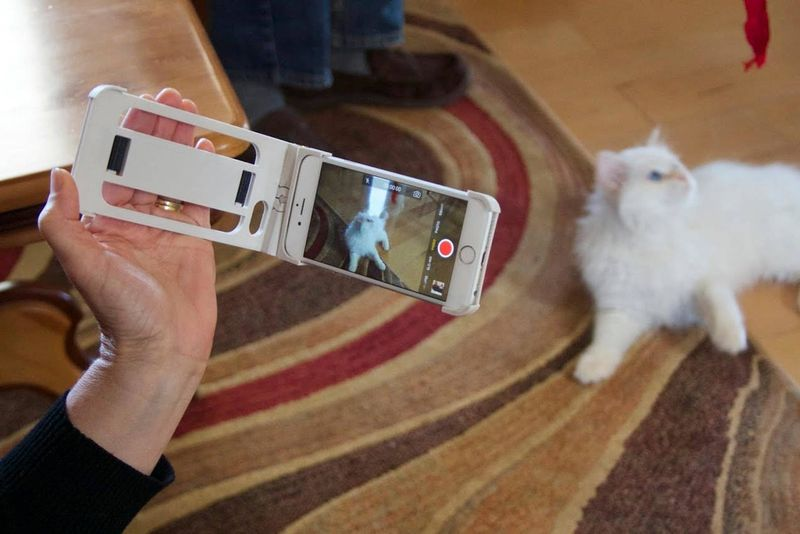 Camcorder-Inspired Smartphone Cases