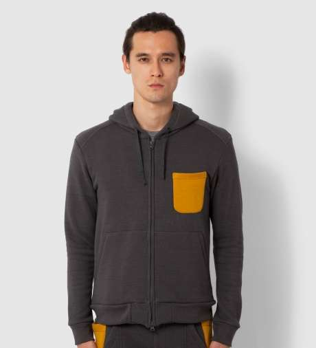 Mustard-Accented Apparel