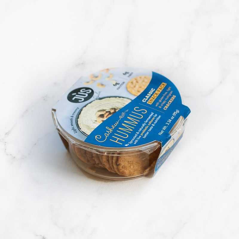 Probiotic-Infused Hummus