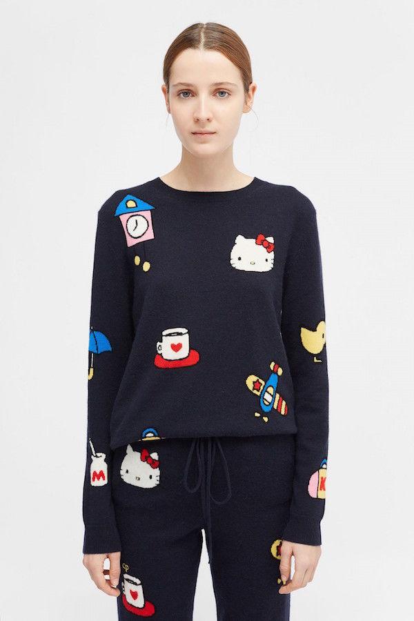 Luxurious Cartoon-Inspired Cashmere Apparel