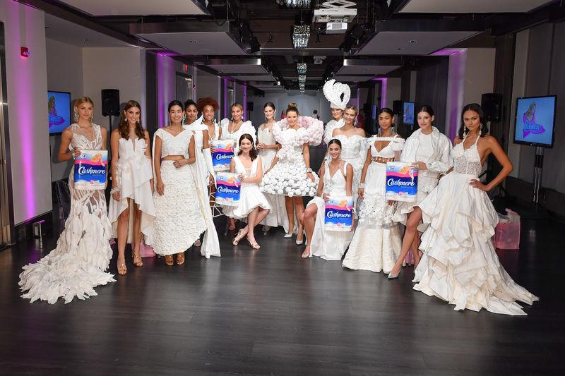 Bathroom Tissue Haute Couture