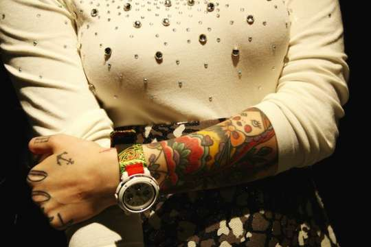Tattoo-Inspired Watches
